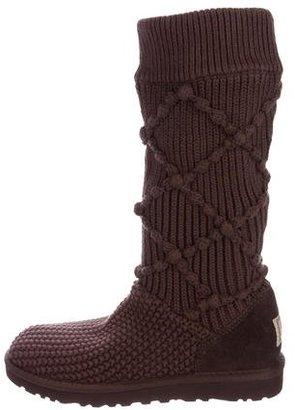 UGG Australia Argyle Knit Classic Boots $95 thestylecure.com