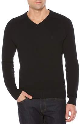 Original Penguin Pique V-Neck Sweater (Big & Tall)