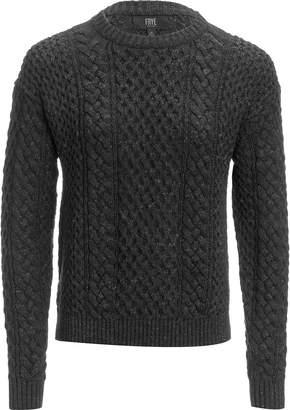 Frye Erin Fisherman Cable Sweater - Women's
