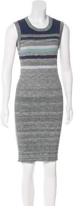 Chanel Metallic Knit Dress
