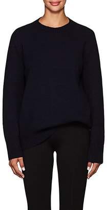 The Row Women's Sibel Wool-Cashmere Crewneck Sweater - Dark Navy