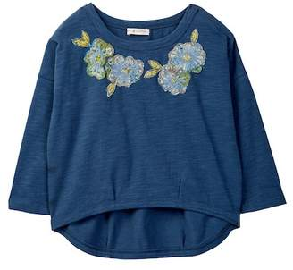 Mimi & Maggie Bubble Flower Tee (Toddler, Little Girls, & Big Girls)
