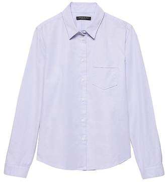 Banana Republic Petite Quinn-Fit Oxford Shirt