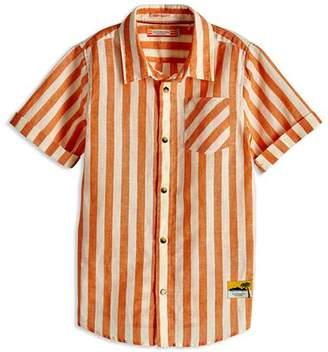Scotch Shrunk Boys' Stripe Button-Down Shirt - Little Kid, Big Kid