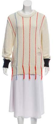 Raquel Allegra Striped Knit Sweater w/ Tags