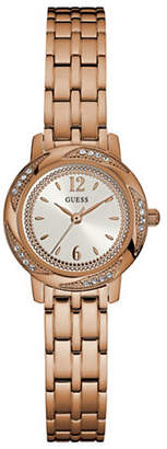 GUESS Rose Goldtone Stainless Steel Bracelet Watch