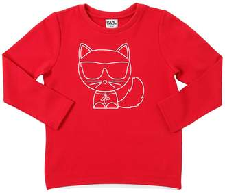 Karl Lagerfeld Milano Jersey Sweatshirt