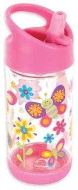 Stephen Joseph® Butterfly Flip Top Bottle in Pink
