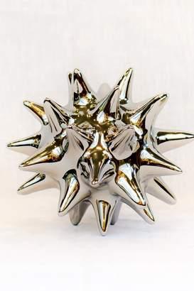 Global Views Bright Silver Urchin