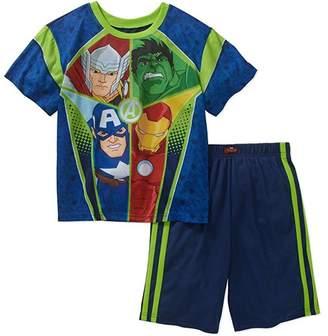 Iron Man AME Marvel Avengers Boy's Size 10/12 Pajama Shorts Set, Hulk, Thor, Ironman