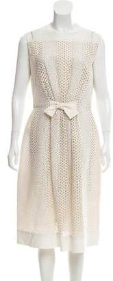 Giambattista Valli Embroidered Midi Dress