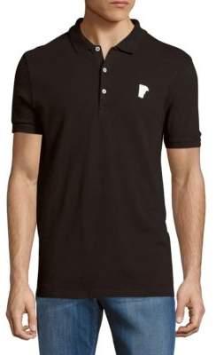 Solid Cotton Polo $185 thestylecure.com