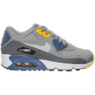 on sale bf3fd a47d1 Nike Youth Air Max 90 LTR Leather Trainers 4.5 US