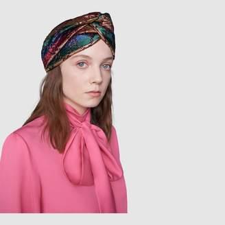 893ab16fbe2 Gucci GG rainbow stripe lurex headband