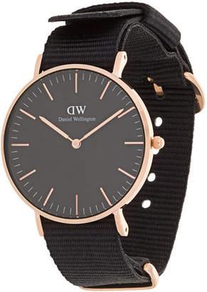 Daniel Wellington Classic Black Cornwall watch