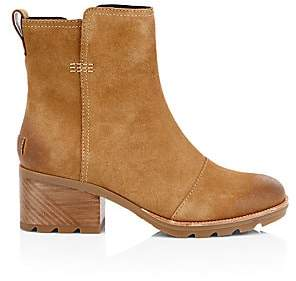 Sorel Women's Cate Waterproof Suede Booties