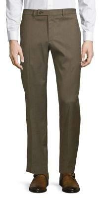 Lauren Ralph Lauren Flat-Front Stretch Pants