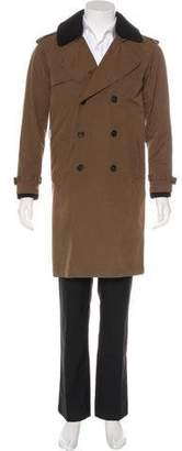 Band Of Outsiders Woven Trench Coat