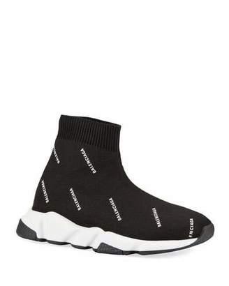 Balenciaga Kids' Tall Speed Knit Sock Sneakers, Toddler/Kids