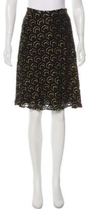 Co Silk-Blend Skirt Black Silk-Blend Skirt