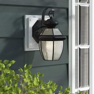Three Posts Mellen 1-Light Traditional Outdoor Wall Lantern
