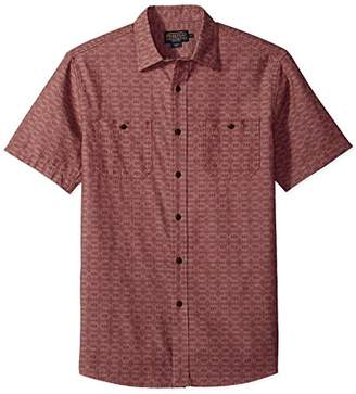 Pendleton Men's Short Sleeve Classic-Fit Chambray Shirt