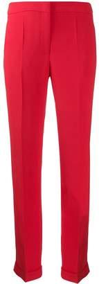 Giorgio Armani Cady viscose silk trousers
