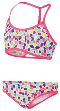 Speedo Girl's Crop Set Two Piece Swimsuit