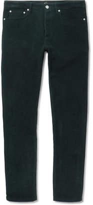 A.P.C. Petit Standard Slim-Fit Cotton-Corduroy Trousers