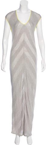 Alexander WangT by Alexander Wang Short Sleeve Maxi Dress w/ Tags