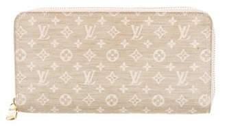 Louis Vuitton Mini Lin Zippy Wallet
