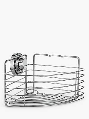 Bliss Lock N Roll Corner Suction Shower Basket