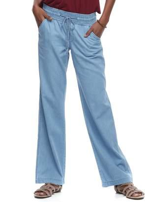 So Juniors' SO Wide-Leg Beach Pants