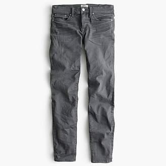 "J.Crew Tall 8"" toothpick jean in grey"