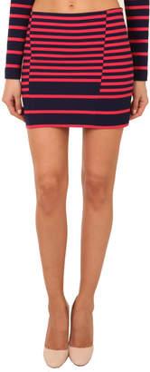 Thakoon Striped Mini Skirt