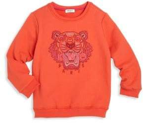 Kenzo Toddler's, Little Girl's& Girl's Tiger Icon Sweatshirt