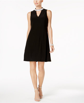 Msk Embellished Keyhole Dress $69 thestylecure.com