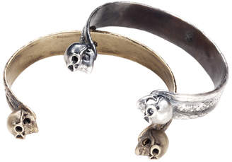 Skins And Stones Skulls and Skins Cuff Bracelet