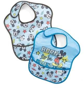 Bumkins 2-Pack Mickey Mouse(R) SuperBib Set