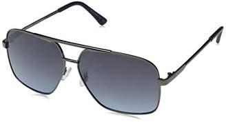 Rocawear Men's R1505 Gunbl Non-polarized Iridium Aviator Sunglasses