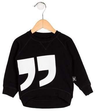 Nununu Boys' Printed Knit Sweater