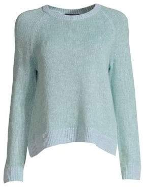 Eileen Fisher Linen-Blend Crewneck Sweater