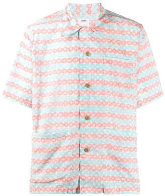 Visvim logo print shirt