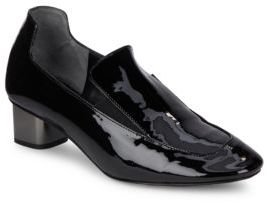 Patent Leather Slip-On Loafer $595 thestylecure.com