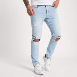 River Island Light blue Sid skinny jeans