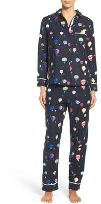 Kate Spade New York Flannel Pajamas $88 thestylecure.com
