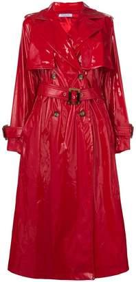 Vivetta vinyl trench coat