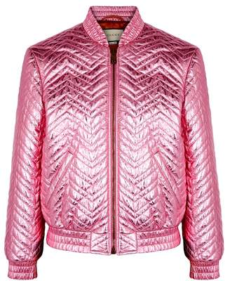 Womens Quilted Leather Jacket - ShopStyle UK 90ca87d7b