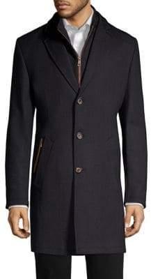 Bugatti Flexcity Buttoned Coat