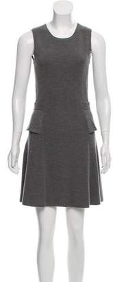 Skaist-Taylor Wool Peplum Dress